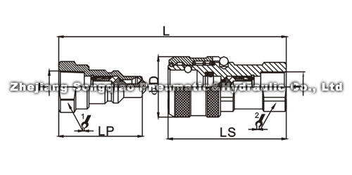 Муфты серии LSQ-TC Схема