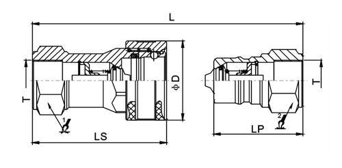 Муфты серии LSQ-TG График